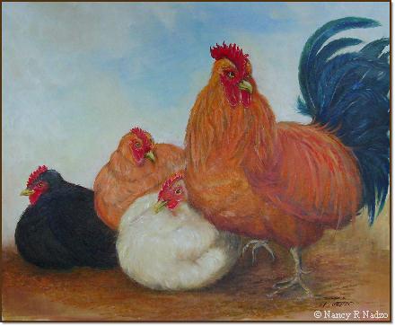 Chicken by Nancy R Nadzo