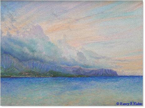 Kaneohe Bay by Nancy Nadzo